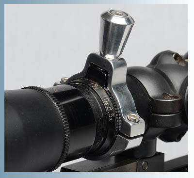 Zoom Lever Leupold 20x50 Scope